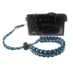 FoRapid Quick Release Braided 550 Paracord Adjustable Camera
