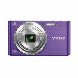 RARE! Sony DSC W830 Digital Compact Camera - Purple