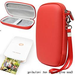 Red Protective Case for HP Sprocket Plus Portable Photo Prin