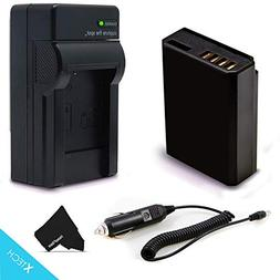 High Capacity LP-E10 Battery and Battery Charger Kit for Can