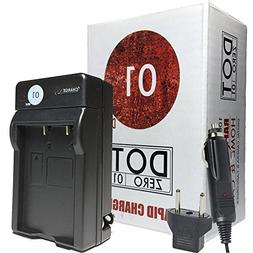 DOT-01 600 mAh Replacement Charger with Car Charger and Euro