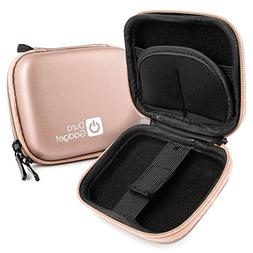 DURAGADGET Rose Gold 'Shell' Carry Case With Belt Clip For H