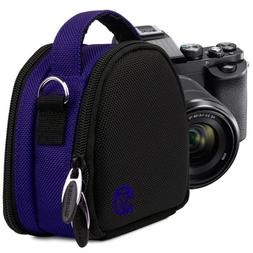 VanGoddy Royal Blue Compact Camera Case for Small Size Digit