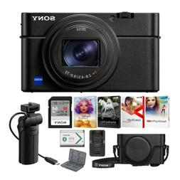 Sony RX100 VI 20.1 MP Premium Digital Camera with Grip and T