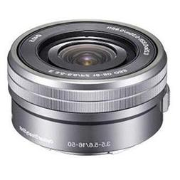 Sony SELP1650 16-50mm f/3.5-5.6 OSS Alpha Zoom Lens Silver B