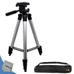 "60"" Pro Series Lightweight Photo/Video Tripod & Carrying Cas"