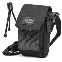 USA Gear Shoulder Sling Digital Camera Bag for Nikon 1 J5 ,