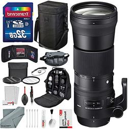 Sigma 150-600mm f/5-6.3 DG OS HSM Contemporary Lens for Niko