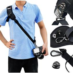 QBINGO Single Lens Reflex Camera Strap,Camera Harness,Extra