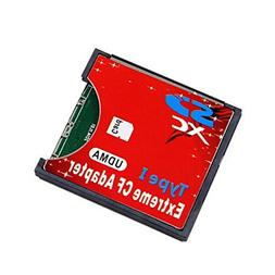 Original Extreme Wireless WiFi SDHC SDXC Card Slot to CF Typ