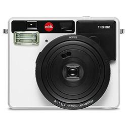 Leica Sofort Instant Camera, White - Bundle with Sofort Mono