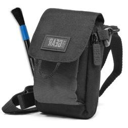 Soft Carrying Camera Case with Accessory Pocket , Adjustable