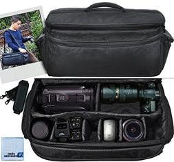 Extra Large Soft Padded Camcorder Equipment Bag / Case For N