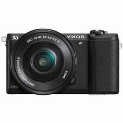 Sony a5100 16-50mm Mirrorless Digital Camera with 3-Inch Fli