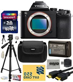 Sony a7 Full-Frame 24.3 MP Mirrorless Interchangeable Digita