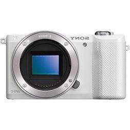 Sony Alpha A5000 ILCE5000/W 20.1MP Mirrorless Digital Camera