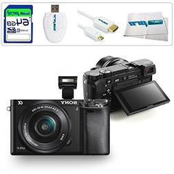Sony Alpha a6000 ILCE6000 Interchangeable Lens Camera with 1
