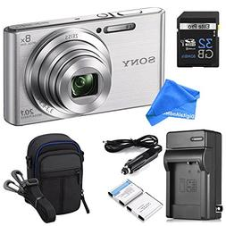 Sony DSCW830 20.1 MP ULTIMATE PRO Digital Camera Bundle  - C