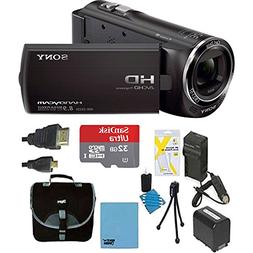 Sony HDRCX405 Handycam Camcorder Bundle with Micro SD Card,