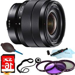Sony SEL1018 10-18mm Wide-Angle Zoom Lens ESSENTIALS BUNDLE