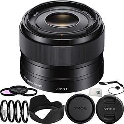 Sony SEL35F18 35mm f/1.8 OSS Alpha E-mount Prime Lens 12PC A