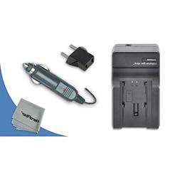 High Speed Quick AC/DC Charger Kit for Nikon Coolpix S60, S8