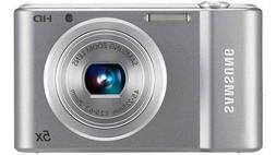 Samsung ST66 16 MP Compact Digital Camera - Silver