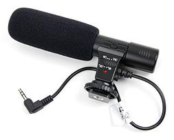 DURAGADGET Stereo SLR Camera Microphone for The Canon EOS 5D