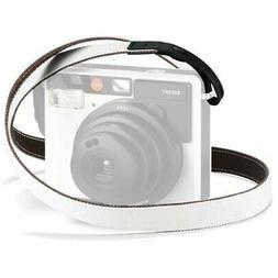 leica Strap for SOFORT Instant Camera, White/Black