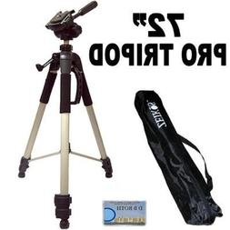 "Professional PRO 72"" Super Strong Tripod With Deluxe Soft Ca"
