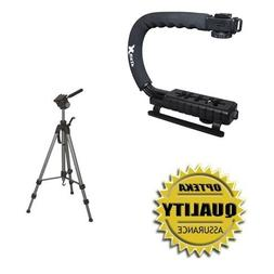 """Opteka Support Kit with X-Grip Stabilizing Handle and 72"""" Pr"""