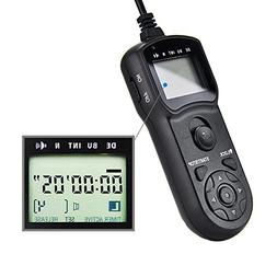 JJC Timer Remote Control Shutter Release for Sony A6000,A510