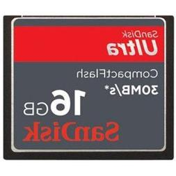 SanDisk 16GB ULTRA CF Memory Card 30MB/s 200x