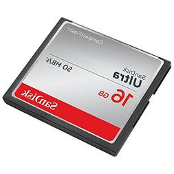 Sandisk Ultra - Flash Memory Card - 16 GB - CompactFlash