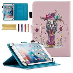 Universal Case for 8 inch Tablet, Uliking PU Leather Stand F