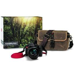 Leica V-Lux  Explorer Kit with Ona Bag & COOPH Rope Strap