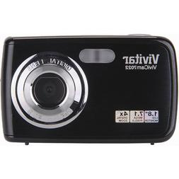 Vivitar V7022-BLACK Compact Digital 7.1MP Camera Black