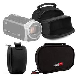 DURAGADGET Water-Resistant Digital Video Camera Bag for JVC