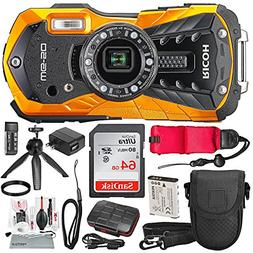 Ricoh WG-50 Waterproof/Shockproof Point and Shoot Digital Ca