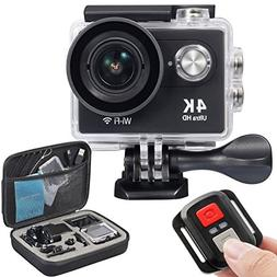 OnLyee 4K WiFi Sports Action Camera Ultra HD Waterproof DV C