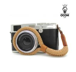 Camera Hand Strap, Brown, Cotton, Comfortable, Durable, Styl