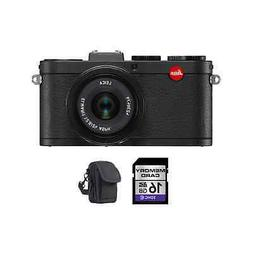 Leica X2 Digital Compact Camera w/24mm f/2.8 ASPH Lens - Bla