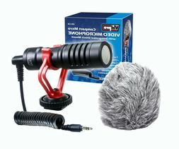 Vidpro XM-CM Compact Micro Video Microphone with Integrated