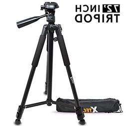 Xtech Pro Series 72' inch Tripod with Carrying Case, 3 way